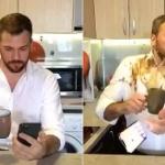 【動画】飲み物を手に持ったまま見ると、大変なことになってしまう動画がこちら!