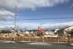次は何になる!?ライラ交野中央の案内所、東京靴流通センター跡地の建物が解体工事中!