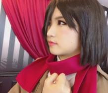 『【モーニング娘。'19】加賀楓が進撃の巨人のミカサのコスプレをしてみた結果wwwwwwwwwwwwww』の画像