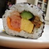『節分👹~恵方巻と「半生味噌煮込みうどん」@石丸製麺』の画像
