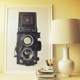 『【無料素材】プリント飾るだけでお洒落!モノトーンBlack&white男前ウォールポスターアート 【インテリアまとめ・画像 フリー 】』の画像