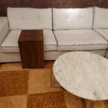 『セミオーダースタイルのサイドテーブル・ブラックウォールナットが入荷』の画像