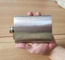 【朗報】ワイ、ついに「酒を入れる薄い金属の水筒みたいなやつ」を買ってしまう