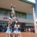 2014年 第11回大船まつり その57(イトーヨーカドー前/鎌倉女子大学チアリーダー部LOVERS)の14