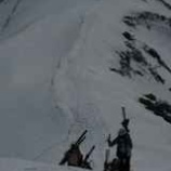 『月山ツアースキー1期最終日』の画像