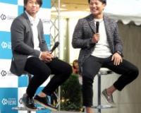 【阪神】梅野&北條が笑顔でトークイベント よく食事に行く選手や互いの呼び名は…