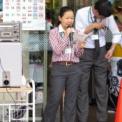 2013年 第10回大船まつり その19(鎌倉女子大学中等部・高等部マーチングバンド生演奏)の1