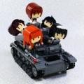 [電動]レゴでガルパンの「IV号戦車D型」完成しました!