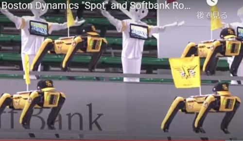 ソフトバンクホークスのロボット応援団が不気味だと海外で話題に(海外の反応)