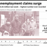 『【恐怖】米失業保険申請数が異次元突破!株主なら外資系企業で、働くなら日本企業。』の画像