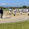 中部学童野球の総合開会式