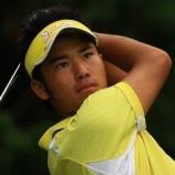 『【ゴルフ】 松山英樹 スイング 動画・画像まとめ【アイアン・ドライバー・後方・スロー】 【ゴルフまとめ・ゴルフスイング スロー 】』の画像