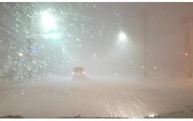 『猛吹雪(修行連続832日目)』の画像