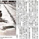 『(埼玉新聞)水難事故から命守ろう 戸田東小 プールで着衣水泳』の画像