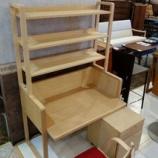 『【北欧テイスト・日進木工の家具2013】n-kids STUDYシリーズのデスク・KID-004とチェア・KIC-003が入荷』の画像