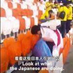【動画】中国、W杯日本サポーターのマナーをコロンビアサポーターや中国ネットが称賛 [海外]