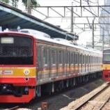 『205系武蔵野線M5,M33編成社内試運転(3月10日)』の画像