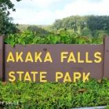『ハワイ島&オアフ島の旅:ホノカアの街&アカカの滝』の画像