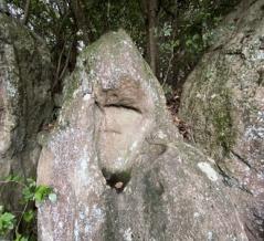 香川県の富士を造ったのは大男らしい