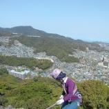 『地元の岩場「権現岩」で岩登りトレーニング』の画像