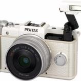 『ペンタックスが「PENTAX Q」を発表・・発売は秋』の画像