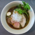 BumBun Blau Cafe with BeeHive@旗の台 「アグー叉焼の醤油ラーメン」