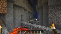 新枝掘り坑道を整備 (2)