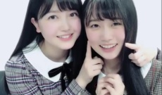 【朗報】久保ちゃんと矢久保ちゃんのLINE LIVEがかわい過ぎるww