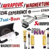 『【7月7日(土)・7月8日(日)】KW/AKRAPOVIC/WAGNERTUNING Special Experience in maniacs STADIUM 詳細決定』の画像