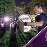 『【DCI】ドラム必見! 2019年ブルーコーツ・ドラムライン『ペンシルバニア州アレンタウン』本番前動画です!』の画像