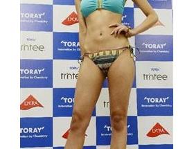 【画像】東レ水着キャンペーンガールの森友里恵さんがテンプレ顔だと話題に
