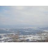 『雫石スキー場から見た小岩井農場』の画像