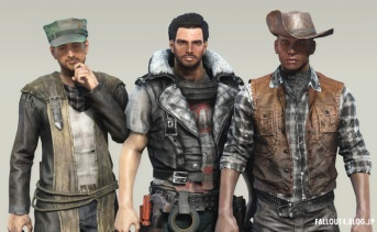 Femshepping's Wasteland Drifter Outfits