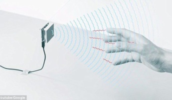 Googleが発明した手で画面を触らずにデバイスを操作できる技術が近未来的だと話題に