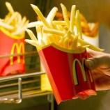 『【疑問】マクドナルドのポテトを何回食べても飽きないのはなぜか?』の画像