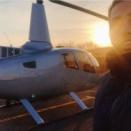 ヘリコプターで栃木の山まで取材に。。。