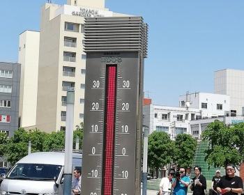 北海道帯広市で37度3分 温度計が壊れ列車はレール温度上昇で運転休止