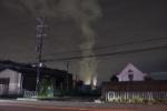 枚方市の工業団地方面にすんごい煙が見えてた~ファミリーマート幾野四丁目店付近~