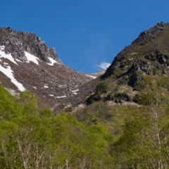火山を身近に感じることが出来る焼岳登山
