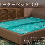 『【住賓館Style】テーマ:6畳に収まるセミキングサイズのウォーターベット(2) コーディネイト編』の画像