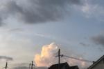 6月なのにもう入道雲が出ててそこだけ一瞬、夏の雰囲気!〜今年は梅雨明け早そうという予報も〜