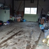 『思いでの詰まった車庫』の画像