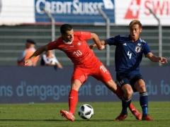 【 データ 】スイス戦の本田圭佑 → ボールロスト1位、守備のチャレンジ回数1回・・・