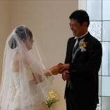 『結婚式』の画像