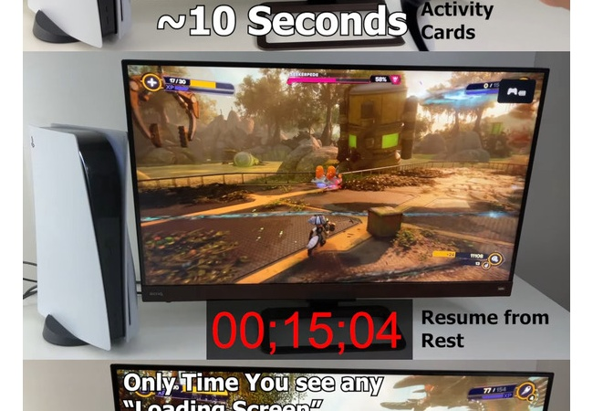 PS5『ラチェット&クランク』、異次元の爆速ロード時間を実現