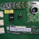 『トヨタ wishのエアコンパネル・PWスイッチのLED打ち換え(LED交換)手術』の画像