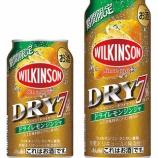 『【期間限定】ウィルキンソン・ドライセブン期間限定ドライレモンジンジャ』の画像