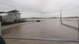 【悲報】近所の川、そろそろ水位がやばいwww(※画像あり)