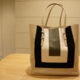 『AMANTES AMENTES(アマンテスアメンテス)3色使いトートバッグ』の画像