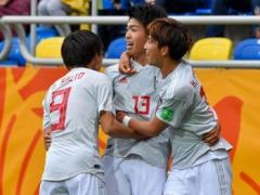 【 U20W杯 】B組 1位 イタリア 勝ち点6 2位 日本代表 勝ち点4